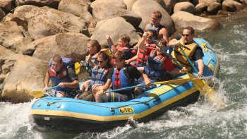 Upper Animas River Rafting Trip at Rockwood