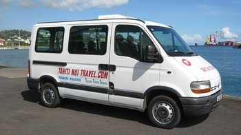 Private Minivan: Papeete Airport (PPT)