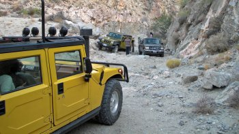 San Andreas Fault Open Air Hummer Adventure