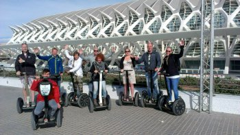 Modern City Segway Tour
