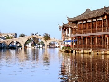 Zhujiajiao Water Village Tour