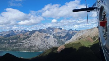 Explore The Rockies Helicopter Tour