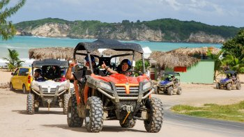 Off-Road Adventure in a Buggy or Terracross UTV