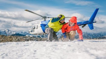 Helicopter Snowshoe Adventure
