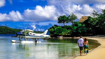 Seaplane Flight & Private Beach Experience by Turtle Airways