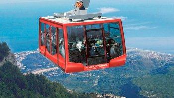 mount tahtali olympos beydaglari turkish riviera by cable car