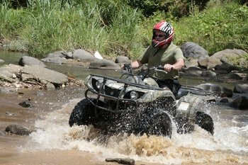 Guided Quad Bike Sightseeing Adventure