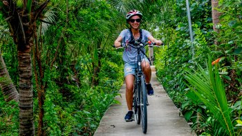 Koh Kret Island Bicycle Excursion