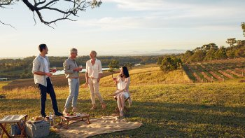 Picnic Among the Vines at Audrey Wilkinson