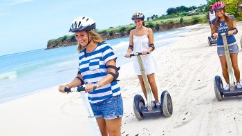 Historic Fort & Beach Segway Tour