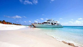 Antigua Power Catamaran Cruise with Lunch