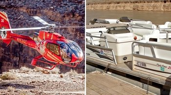 Grand Canyon Flight & Colorado River Cruise