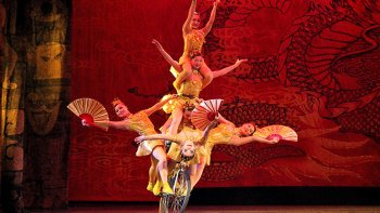 Chinese Acrobatics & Evening City Tour