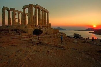 Cape Sounion Majestic Sunset Tour