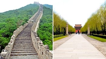 Mutianyu Great Wall & Ming Tombs Group Tour