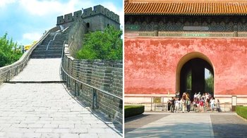 Great Wall's Badaling Section & Ming Tombs Group Tour