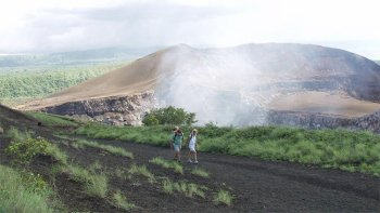 Masaya Volcano National Park & Handicraft Market Half-Day Tour
