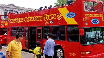 Hop-on, Hop-off Double-Decker Bus Tour
