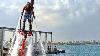 Flyboard Experience with Transfer