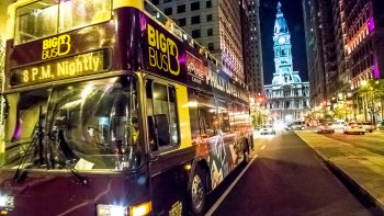 Big Bus Hop-On Hop-Off Pass & Philly Night Tour