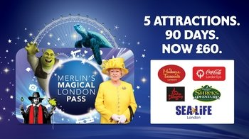 Combo Saver: London Eye, Madame Tussauds, SEA LIFE & Shrek's Adventure
