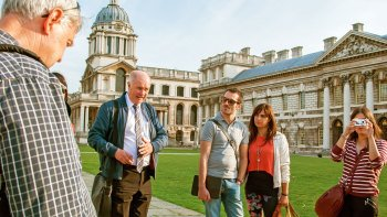 Leeds Castle, Canterbury, Dover & Greenwich Full-Day Tour with River Cruise