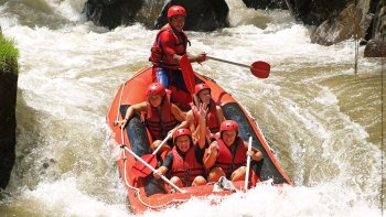 Whitewater Rafting on the Ayung River
