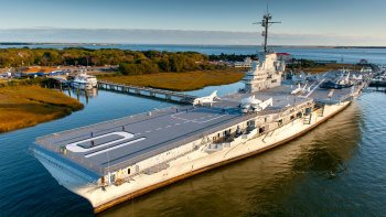 Haunted Ghost Tour of the USS Yorktown