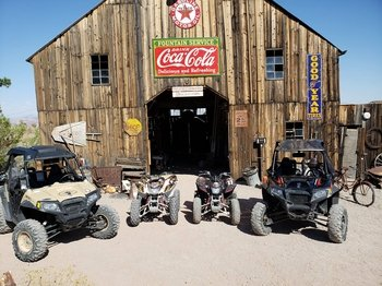 El Dorado Canyon Quad Bike Ride & Gold Mine Tour with Lunch