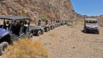 Scenic Quad Bike Tour Through Lake Mead National Park to Colorado River
