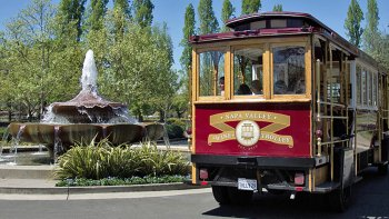 Premium Up-Valley & Castle Tram Tour