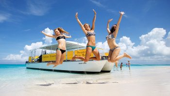 Half-Day Cruise from Providenciales with Snorkeling and Beach Picnic