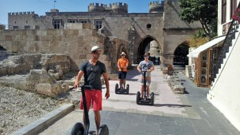 Mediaeval City Segway Tour