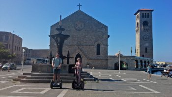 Small-Group Segway Tour of Rhodes Through the Times