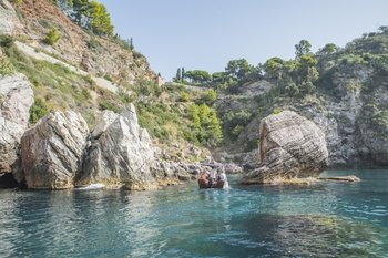 Taormina Bays Boat Tour with Lunch