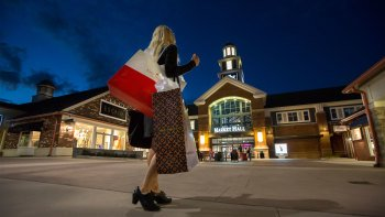 Indkøbstransportservice til Woodbury Common Premium Outlet