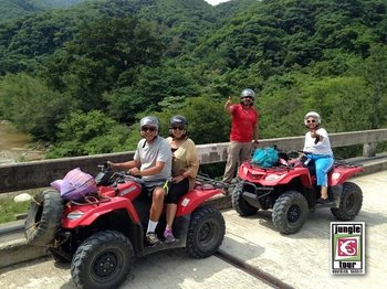 Quad bike Waterfall & Jungle Tour