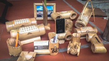 Bamboo Sculpture Workshop at Hoi An