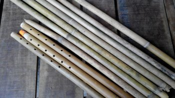 Bamboo Flute Crafting