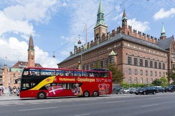 Copenhagen Hop-On Hop-Off Bus Tour