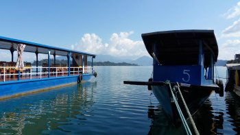 Private Full-Day Nam Ngum Lake Trip & Boat Ride
