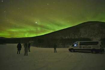 Northern Lights Tour at the Murphy Dome