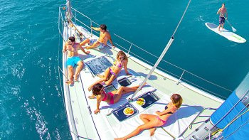 Luxury Sailing Cruise with Snorkeling & Lunch