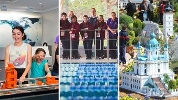 Questacon, Cockington Green & Australian Institute of Sport Combo Pass
