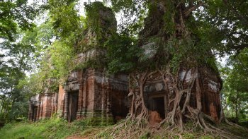 One Day Private Guide Tour to Beng Mealea & Koh Ker