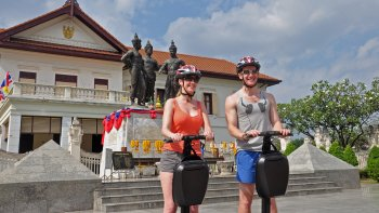 Flight of the Gibbon Zipline with Chiang Mai Old City Segway Tour