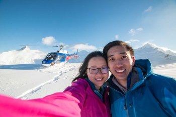 Mount Aspiring Helicopter Flight & Snow Landing by The Helicopter Line