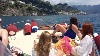 Positano & Amalfi Coast Tour by Boat from Sorrento