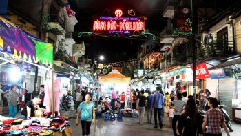 Private Hanoi Nightlife Walking Tour