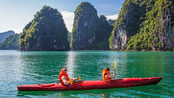 2-Day Halong Bay L'Azalee Cruise with Private Transfer